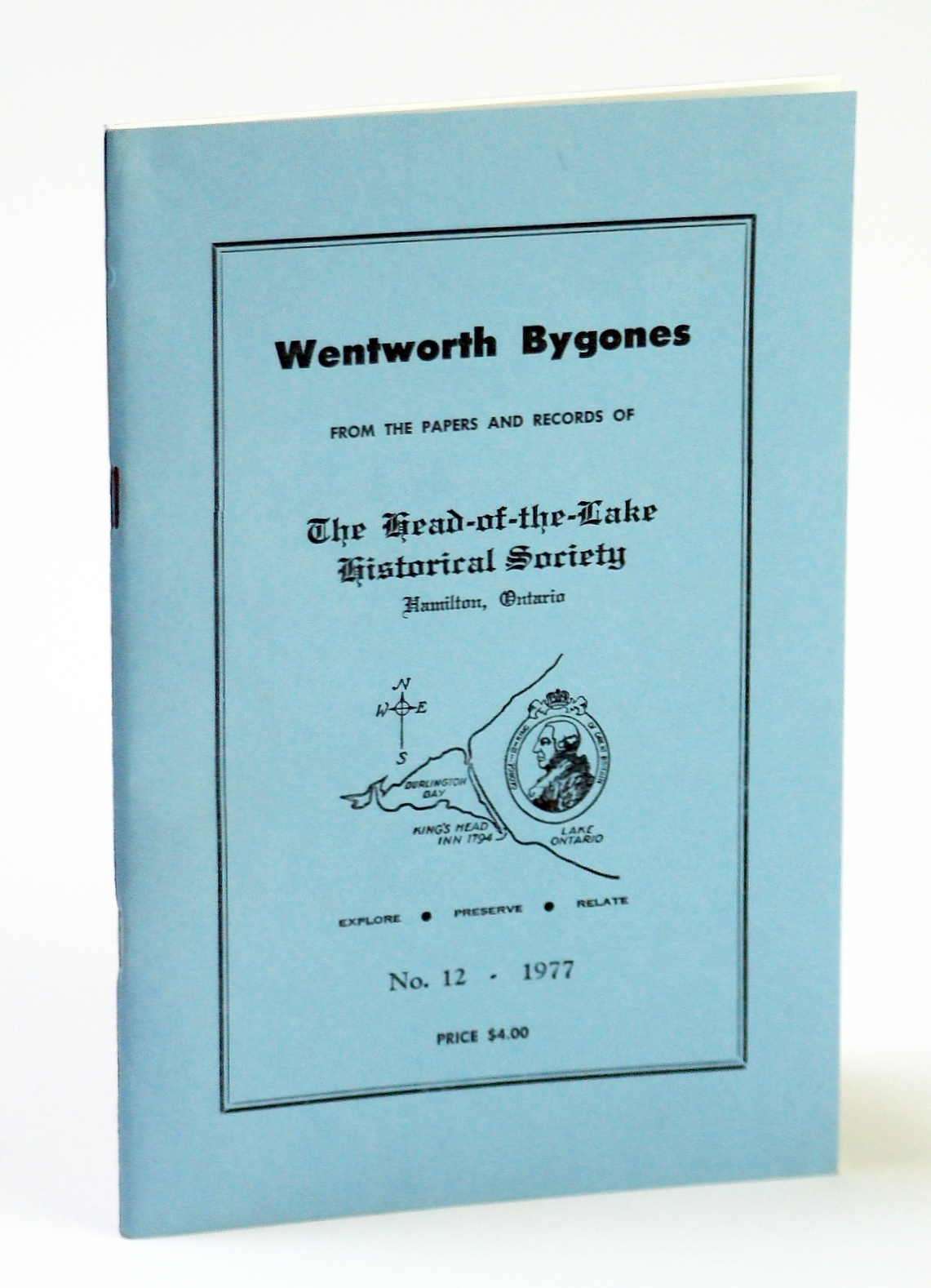 Image for Wentworth Bygones: From the Papers and Records of The Head-of-the-Lake Historical Society, No. 12 (Twelve) 1977