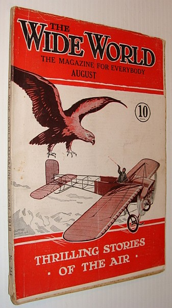 Image for The Wide World Magazine, August (Aug.) 1918: Thrilling Stories of the Air