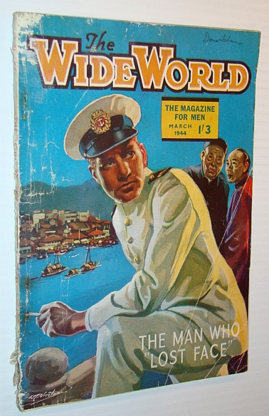 Image for The Wide World Magazine, March 1944 - The Man Who Lost Face