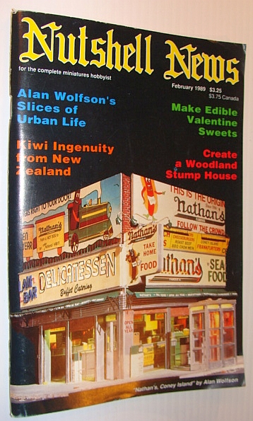 Image for Nutshell News Magazine, February 1989 - Alan Wolfson's Slices of Urban Life