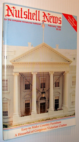 Image for Nutshell News Magazine, February 1988 - The White House Restored