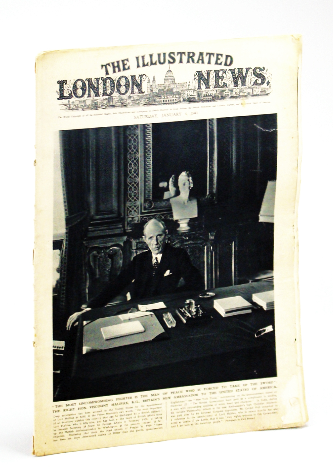 Image for The Illustrated London News, Saturday, January [Jan.] 4,1941 - War Damage in London