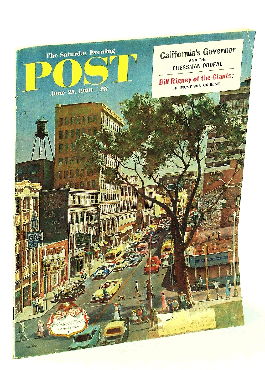 Image for The Saturday Evening Post, June 25, 1960, Volume 232, Number 52 - They Killed Heydrich (part 2 of 3) /Irna Phillips of the Soap Operas