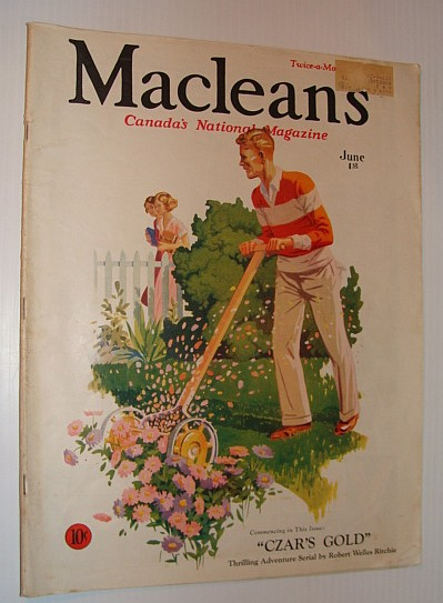 Image for Maclean's Magazine - Canada's National Magazine, June 1, 1933