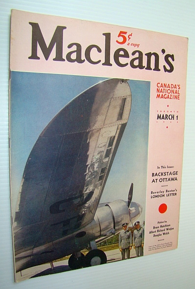 Image for Maclean's - Canada's National Magazine, 1 March, 1940 - The World's Biggest Asbestos Mine in Quebec