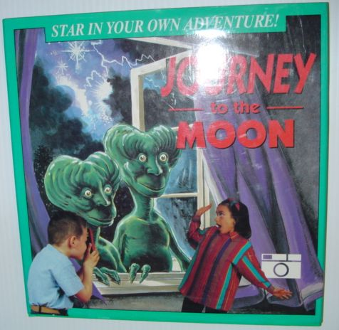 Image for Journey to the Moon (Star in Your Own Adventure Ser.)