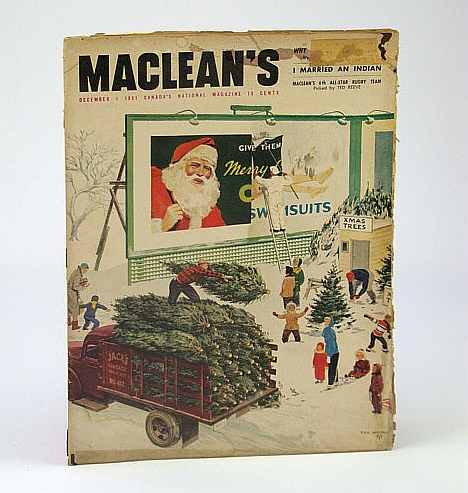 Image for Maclean's - Canada's National Magazine, December (Dec.) 1, 1951 - Incomplete Copy
