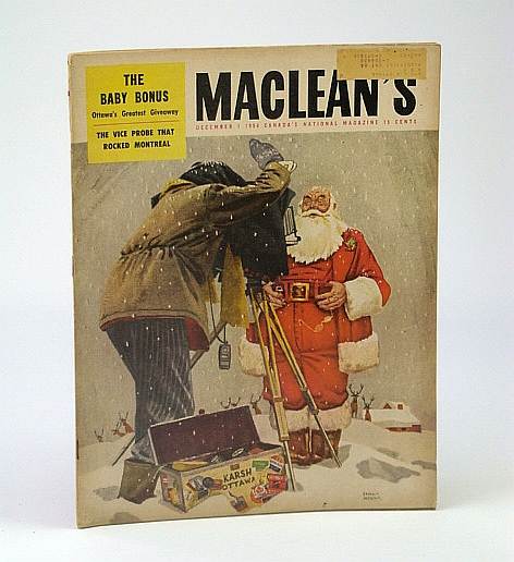 Image for Maclean's, Canada's National Magazine, December (Dec.) 1, 1954 - The Crew-Cuts / How Plante and Drapeau Licked the Montreal Underworld