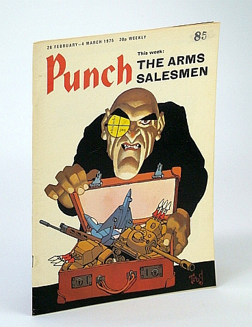 Image for Punch Magazine, 26 February - 4 March 1975: Arms Salesmen Cover Illustration