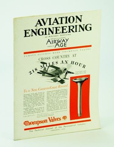 Image for Aviation Engineering and Aircraft Servicing (Magazine), With Which is Consolidated Airway Age - The Technical Journal of the Aeronautical Industry, January (Jan.) 1932 -  The Sperry Automatic Pilot / The Herrick Vertoplane