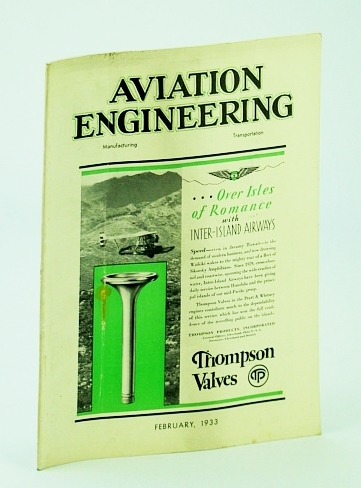 Image for Aviation Engineering (Magazine), February (Feb.) 1933 - Dr. Adolf K. Rohrbach's Rotary Airfoil System