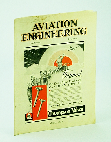 Image for Aviation Engineering (Magazine), April (Apr.) 1933 - Editorial on the Akron Disaster / New Boeing Transport