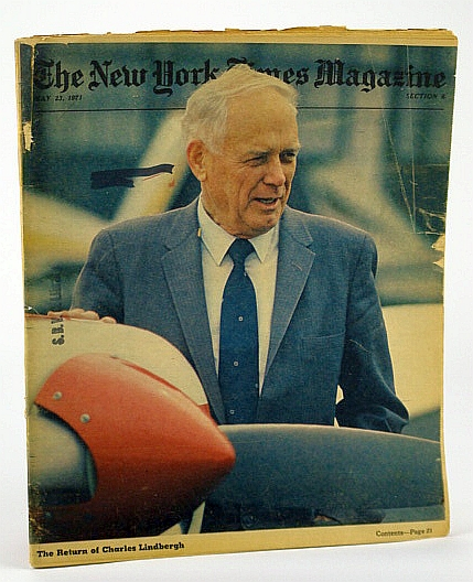 Image for The New York Times Magazine, May 23, 1971 -  The Return of Charles Lindbergh