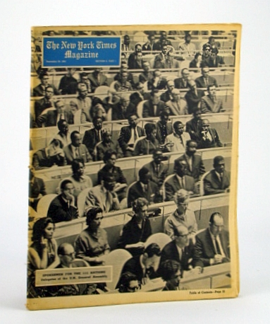Image for The New York Times Magazine, September (Sept.) 29, 1963 -  The Southern Negro Drives for the Vote
