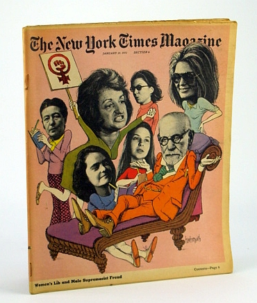 Image for The New York Times Magazine, January (Jan.) 31, 1971 -  Women's Liberation vs. Freud