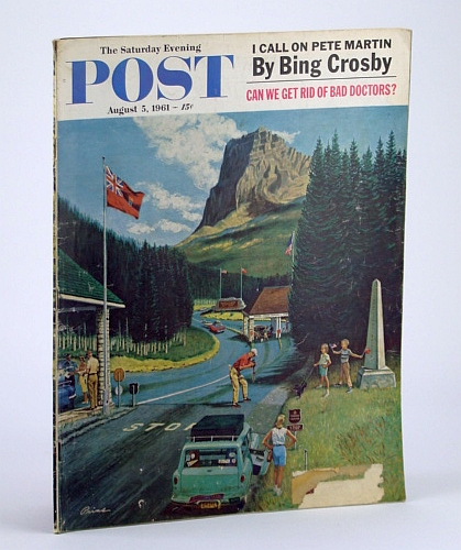 Image for The Saturday Evening Post, August (Aug.) 5, 1961 -  Bing Crosby Calls on Pete Martin