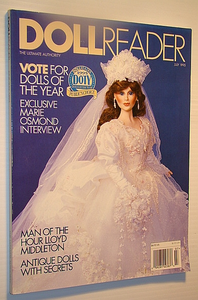 Image for Doll Reader (Dollreader) Magazine, July, 1995: Exclusive Marie Osmond Interview