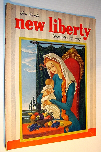 Image for New Liberty Magazine, December 27, 1947:  Featuring Oscar Peterson and Billy Butlin
