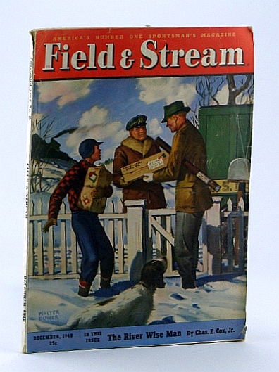 Image for Field and Stream, America's Number One Sportsman's Magazine, December 1948