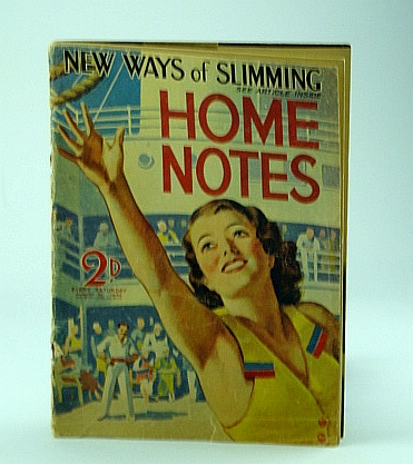 Image for Home Notes Magazine, August 31, 1935, No. 2171, Vol CLXVII - Nova Pilbeam Feature