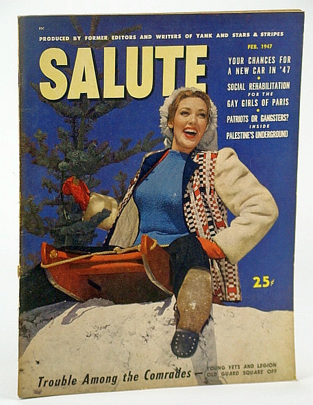 Image for Salute Magazine, Feb. (February) 1947, Vol. 2, No. 2 - Palestine's Underground