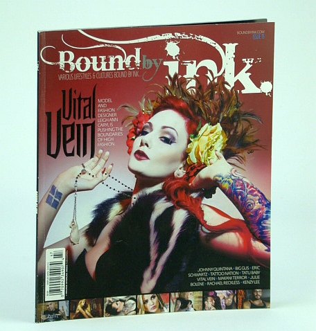 Image for Bound By Ink Magazine - Various Lifestyles & Cultures, Issue Fifteen (15), 2013 - Vital Vein Cover Photo