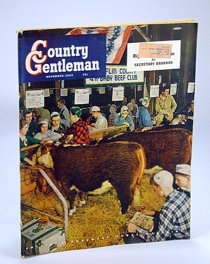 Image for Country Gentleman - America's Foremost Rural Magazine, November (Nov.) 1949: Golden Weapon Against Mastitis