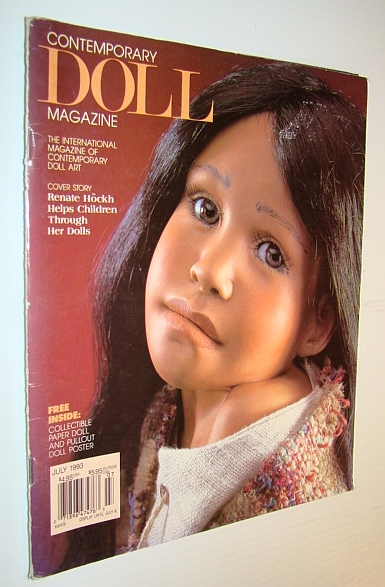 Image for Contemporary Doll Magazine, July 1993 - Renate Hockh Helps Children Through Dolls