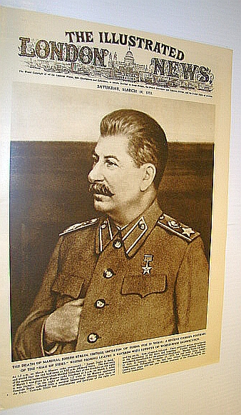 Image for The Illustrated London News (ILN) Magazine, 14 March 1953 - Death of Stalin