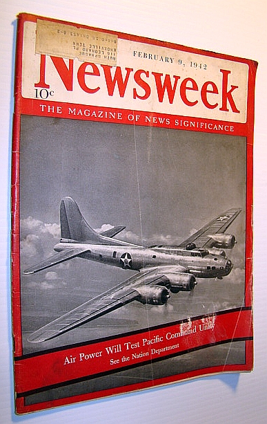 Image for Newsweek - The Magazine of News Significance, February 9, 1942: Dr. Seuss (Ted Geisel)