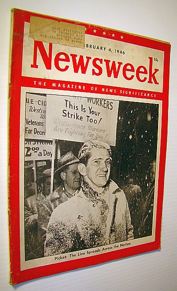 Image for Newsweek - The Magazine of News Significance, February 4, 1946: National Labor Unrest