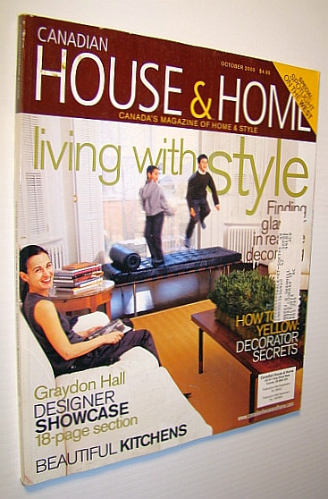 Image for Canadian House and Home Magazine, October 2000 - Graydon Hall Designer Showcase