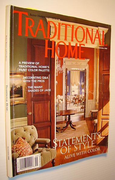 Image for Traditional Home Magazine, September 2000 - Statements of Style