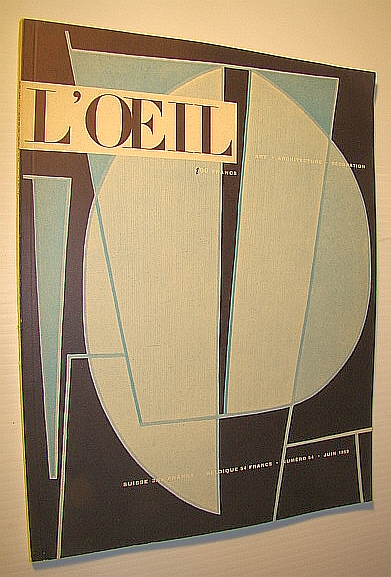 Image for L'Oeil - Art, Architecture, Decoration, Numero 54, Juin, 1959