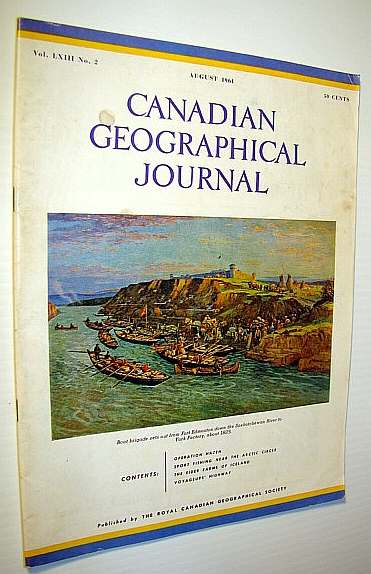Image for Canadian Geographical Journal, August 1961: Operation Hazen