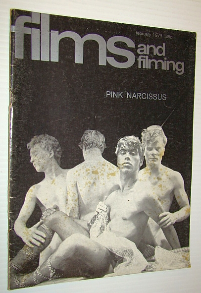 Image for Films and Filming Magazine, February 1973 - Cover Photo of 'Pink Narcissus'
