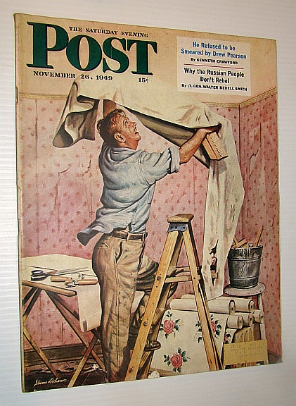 Image for The Saturday Evening Post Magazine, November 26, 1949 - Why the Russian People Don't Rebel