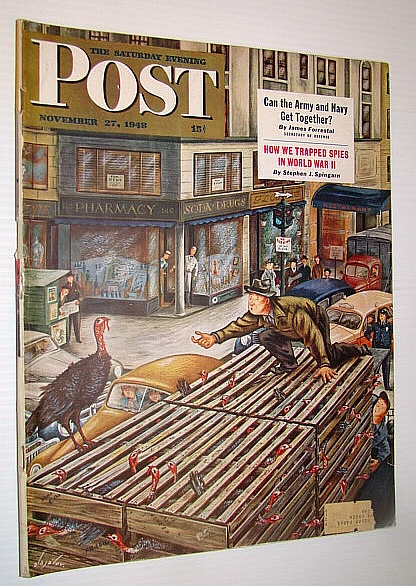 Image for The Saturday Evening Post, November 27, 1948 - How We Trapped Spies in World War II / Allah's Oil