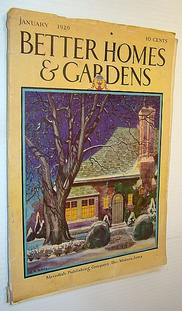 Image for Better Homes and Gardens Magazine, January, 1929 - What I Learned From The Gardens of England