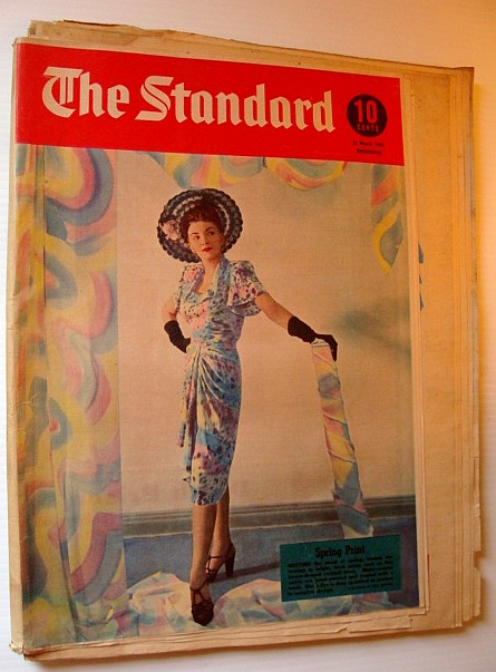 Image for The Standard, 22 March 1947 - Weekly Montreal Pictorial Newspaper