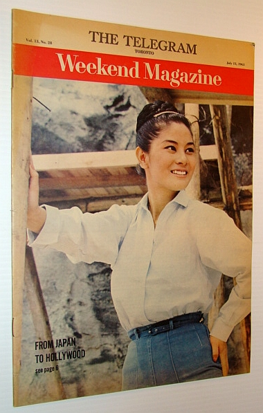 Image for Weekend Magazine, 13 July 1963 - Eiko Taki Cover Photo