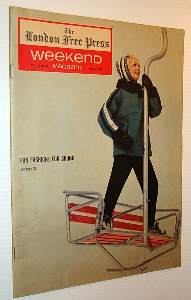 Image for Weekend Magazine, 27 November 1965 (Newspaper Insert)