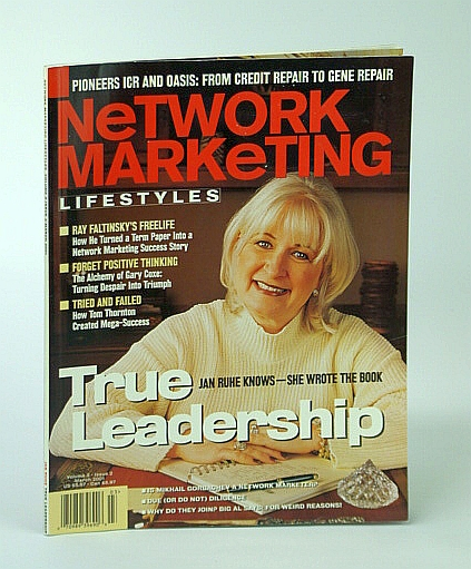 Image for Network Marketing Lifestyles, March 2001 - Jan Ruhe Cover Photo