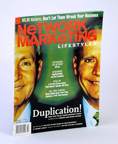Image for Network Marketing Lifestyles, July 2001 - Cover Photo of Ameriplan's Dennis and Daniel Bloom