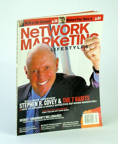 Image for Network Marketing Lifestyles, April (Apr.) 2001 - Stephen R. Covey Cover Photo