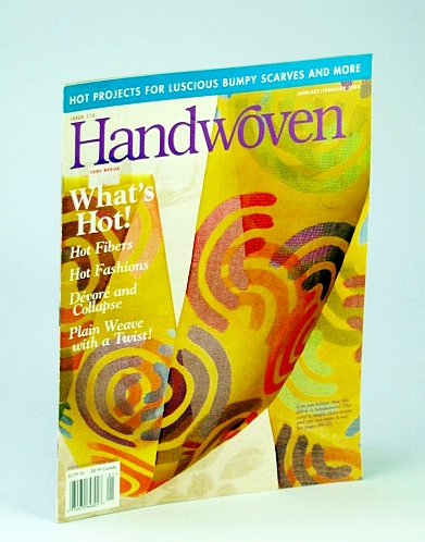 Image for Handwoven (Hand Woven) Magazine, January (Jan.) / February (Feb.) 2003 - Hot Projects for Luscious Bumpy Scarves and More