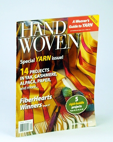 Image for Handwoven (Hand Woven) Magazine, September (Sept.) / October (Oct.) 2010 - Special Yarn Issue