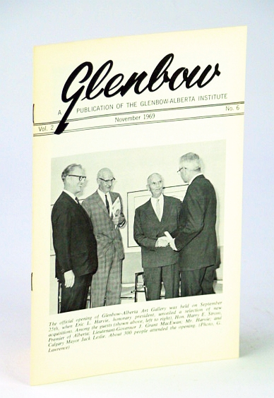 Image for Glenbow, November (Nov.) 1969, Vol. 2, No. 6 - Official Opening of Glenbow-Alberta Art Gallery