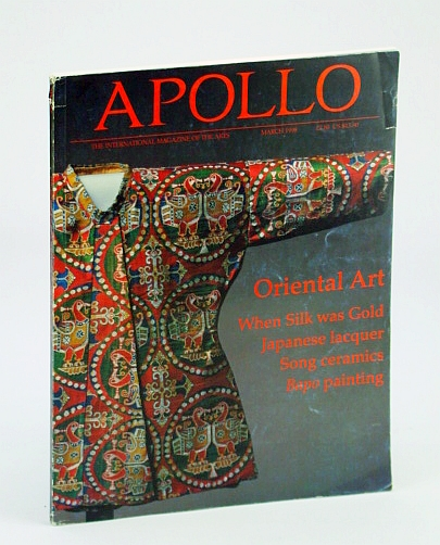 Image for Apollo, The International Magazine of the Arts, March (Mar.) 1998 - Oriental Art