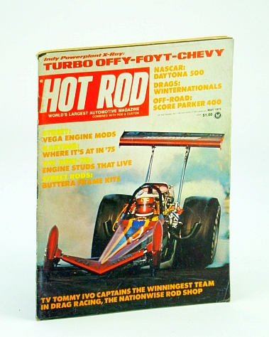 Image for Hot Rod Magazine, May 1975 - The Nationwise Rod Shop